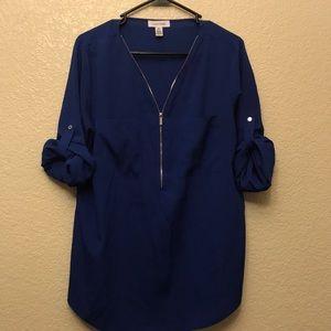 Calvin Klein 3/4 sleeves blouse